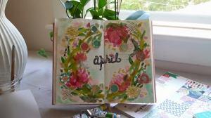 april art journal